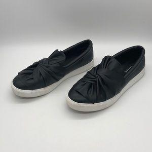 MIA Slip On Sneakers Black Sz 7.5